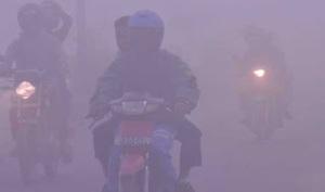 kabut dan motor