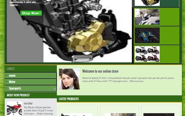 cara mudah membuat toko Online gratisan !!!