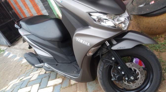 """Yamaha freego """"dual ABS"""""""